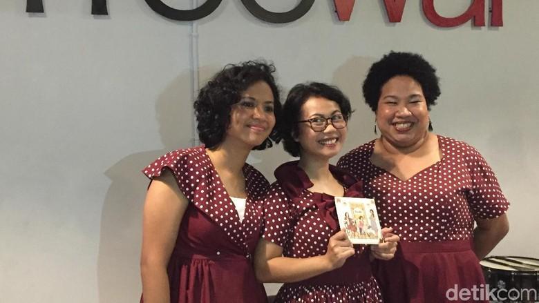 Album Perkenalan dari Trio Nonaria