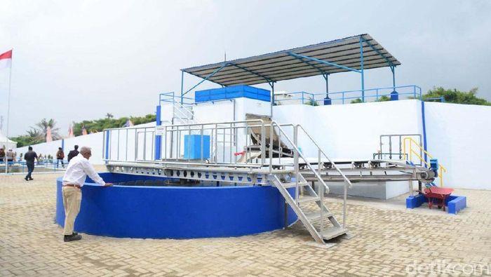 Ilustrasi Sistem Pengolahan Air Minum (Foto: Fadhly Fauzi Rachman)