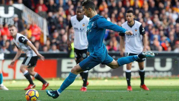 Cristiano Ronaldo menjadi andalan Real Madrid untuk membobol gawang lawan.