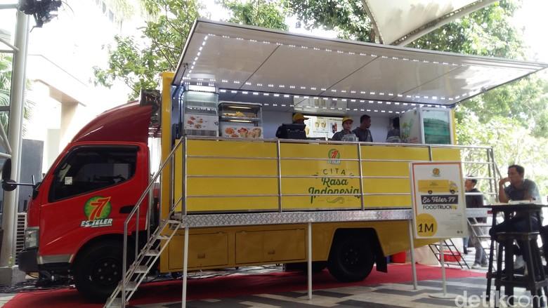 Auto2000 Jual Food Truck, Berapa Harganya? Foto: Muhammad Idris