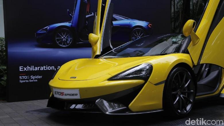 Pengguna McLaren Tidak Ada Dalam Daftar Penunggak Pajak Foto: M. Luthfi Andika