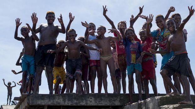 Potret keseharian warga Asmat, Papua