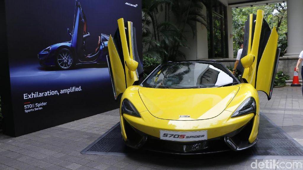 Mobil Sport New McLaren 570S Spider Sapa Indonesia