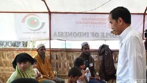 Menengok Aktivitas Jokowi di Lokasi Pengungsian Coxs Bazar