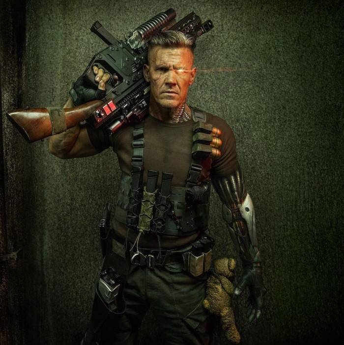 Dalam cerita di Marvel Universe, Cable digambarkan sebagai seorang tokoh prajurit kekar yang datang dari masa depan. (Foto: Instagram/joshbrolin)