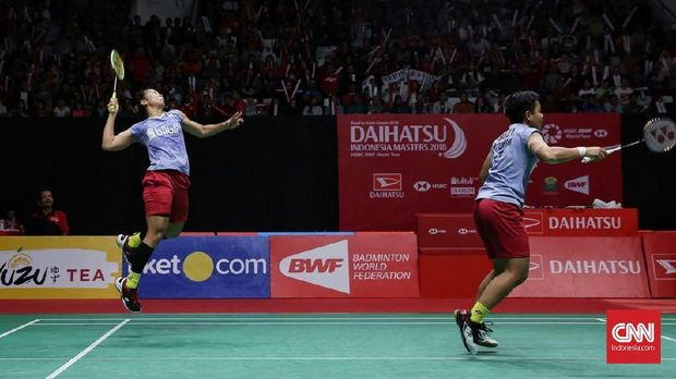Greysia/Apriyani lolos ke perempat final Jepang Terbuka 2018.