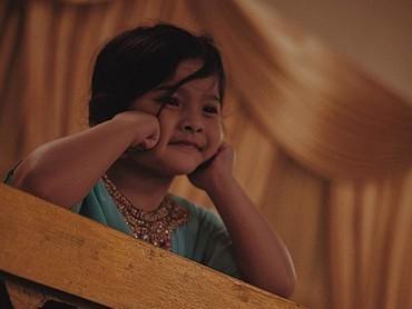 Gayamenggemaskan Atreya yang sebentar lagi akan jadi kakak.(Foto: Instagram/ @audyitem)