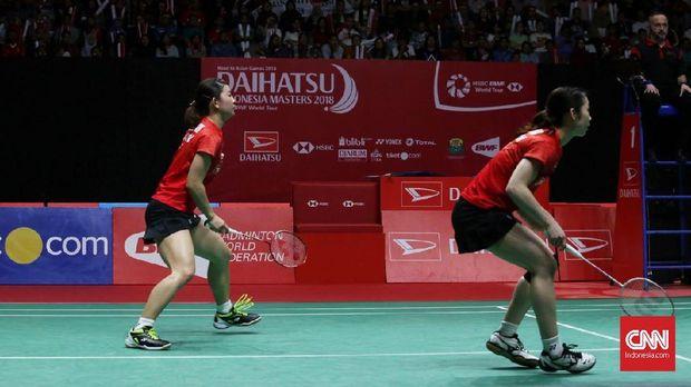 Matsutomo/Takahashi juga pernah mengalahkan Greysia/Apriyani di Indonesia Master Januari lalu.