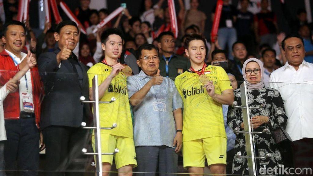 Ketum PBSI Syukuri Raihan Dua Gelar di Indonesia Masters