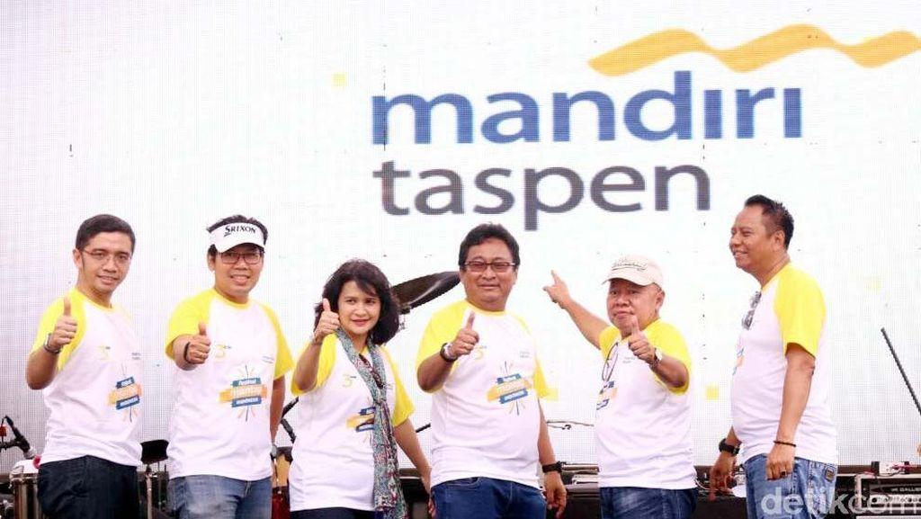 Mandiri dan Taspen Suntik Rp 500 M ke Bank Mantap