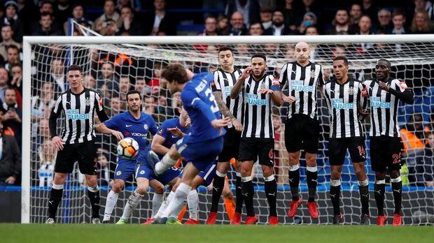 Chelsea tidak akan diperkuat sejumlah pemain saat melawan Newcastle.