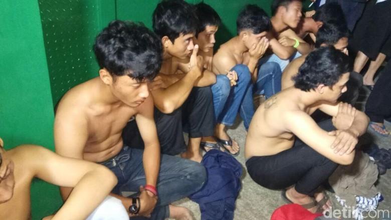 Bawa Sajam dan Hendak Tawuran di Cengkareng, 9 Pemuda Ditangkap