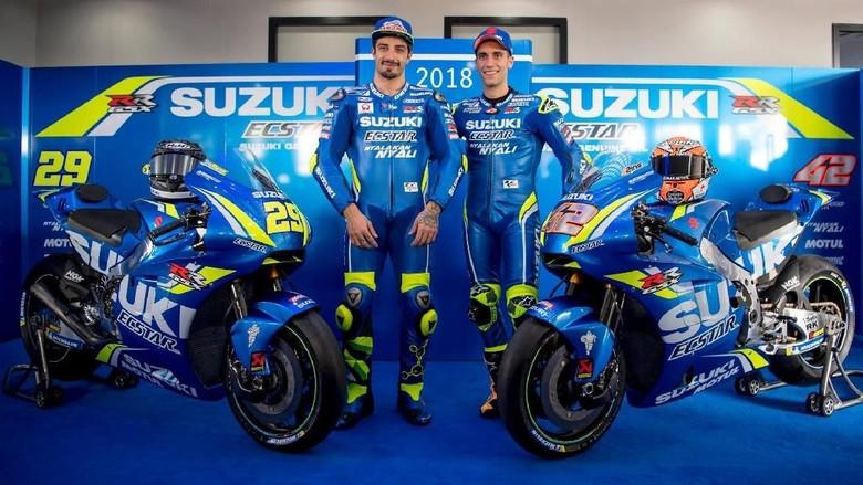 Suzuki Luncurkan Motor Baru untuk Iannone dan Rins