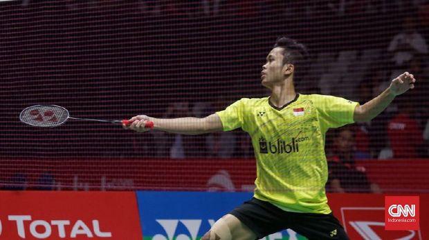 Anthony Ginting lolos semifinal China Terbuka 2018.