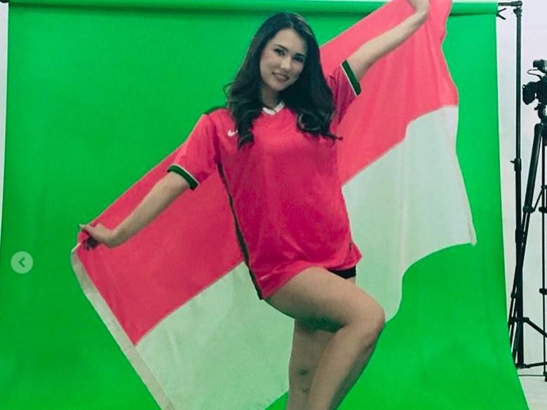 Pakai Kata Indonesia Bosku, Maria Ozawa Ucapkan Selamat HUT RI