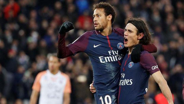 Hubungan Edinson Cavani dan Neymar sempat memburuk.