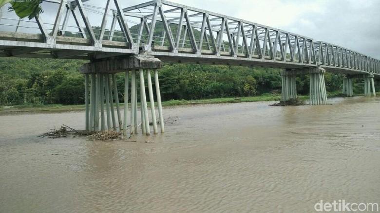 Ini Tempat Mahasiswi UNS Dilempar ke Sungai Opak Bantul