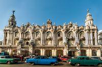 Bangunan bergaya Eropa di Havana (Thinkstock)