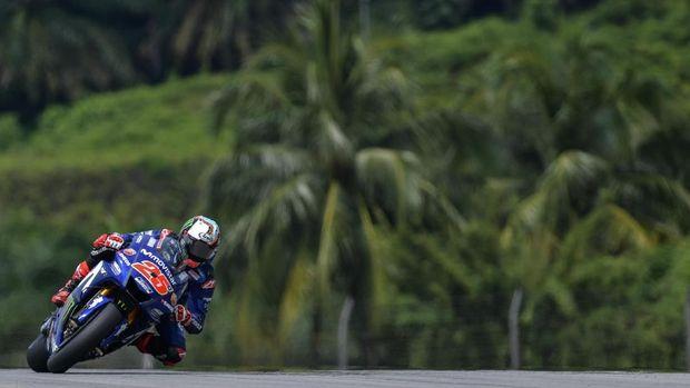 Maverick Vinales punya peluang bagus untuk meraih kemenangan di MotoGP Valencia.