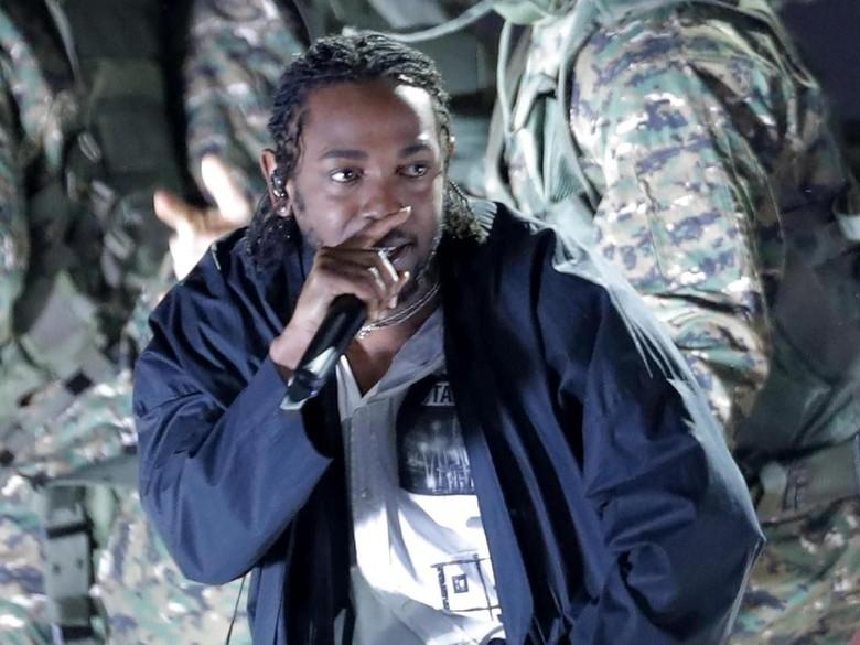 Kendrick Lamar dan Anderson .Paak Berkolaborasi dalam Lagu Baru  Foto: REUTERS/Lucas Jackson