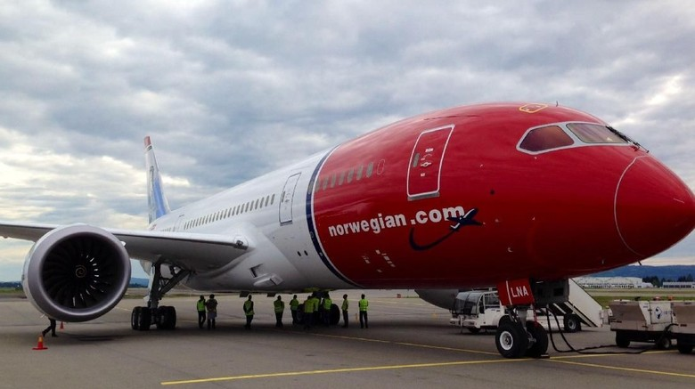 Pesawat Norwegian Air