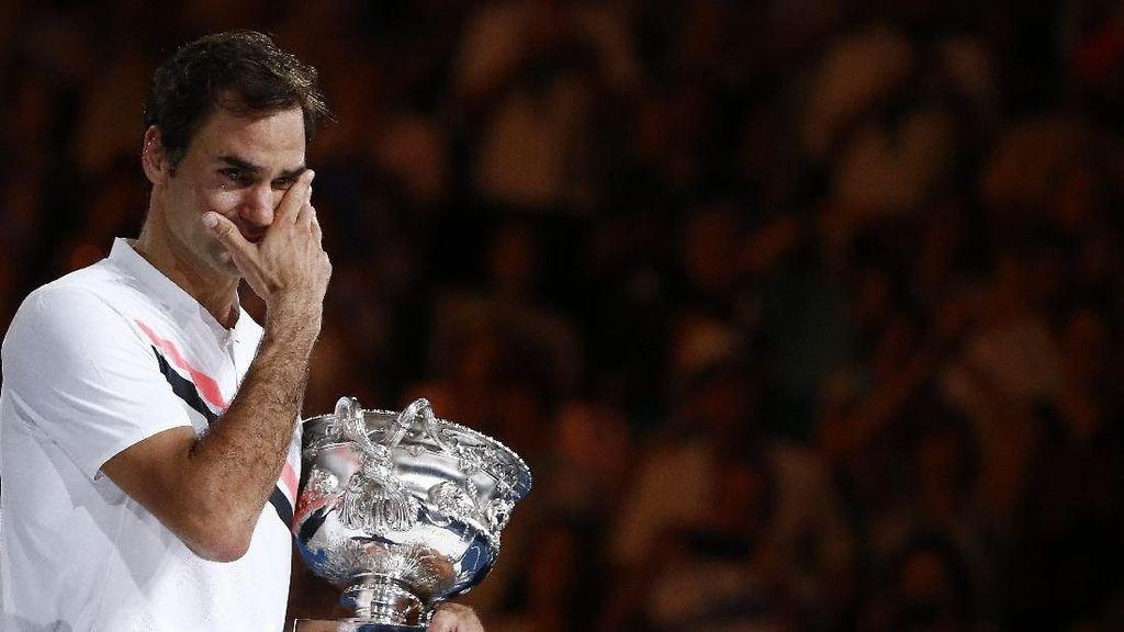 Ucapan Manis Petenis Roger Federer tentang Sosok sang Istri