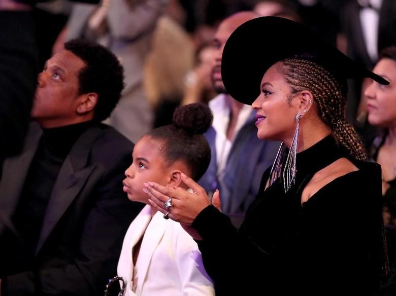 Foto: Beyonce, Blue Ivy, dan Jay-Z (Christopher Polk/Getty Images for NARAS)