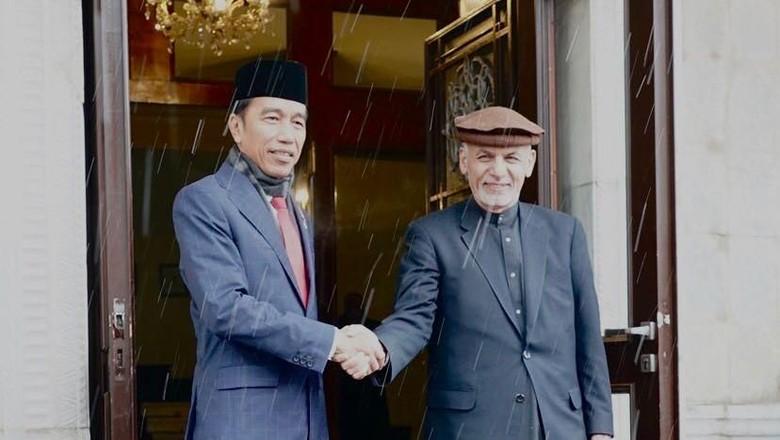 Hormati Kedatangan Jokowi, Presiden Afghanistan Tunda Hari Berkabung