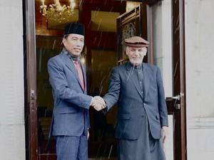 Sampaikan Duka, Jokowi: Indonesia Dukung Perdamaian di Afghanistan