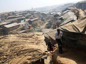 100 Ribu Pengungsi Rohingya di Bangladesh Terancam Banjir