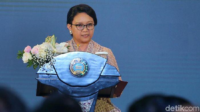 Menlu Retno Marsudi/Foto: Ari Saputra/detikcom