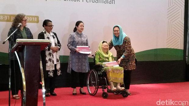 Survei Wahid Foundation bertajuk 'Tren Toleransi Sosial-Keagamaan di Kalangan Perempuan Muslimin Indonesia'