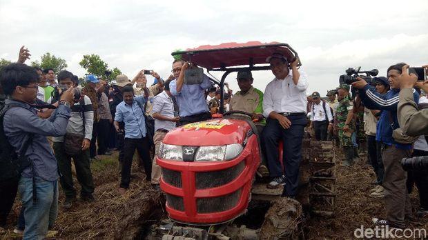Mentan panen raya di Sumatera Selatan