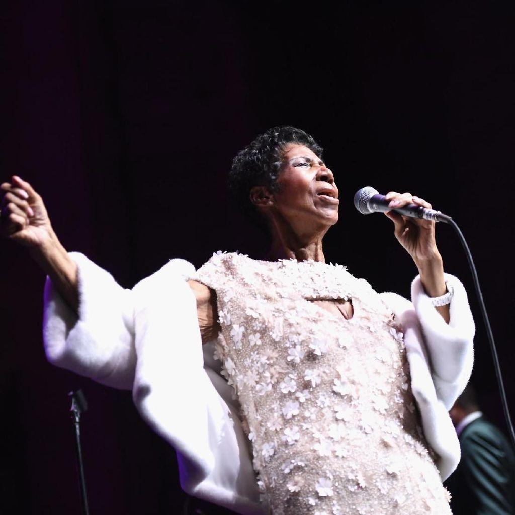Ratu Soul Aretha Franklin Meninggal Dunia di Usia 76 Tahun