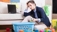 Saat Rumah Berantakan, Ibu Cenderung Lebih Stres Ketimbang Ayah