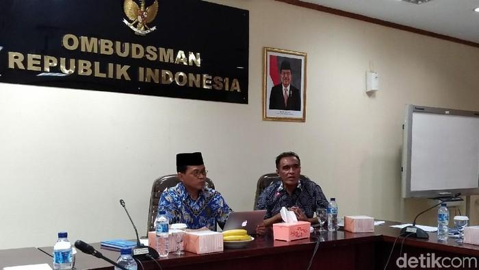 Jumpa pers Ombudsman RI  Foto: Danu Damarjati/detikcom