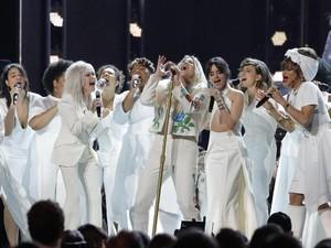 Pidato Janelle Monae Awali Penampilan Kesha di Grammy 2018