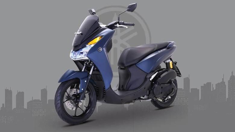 Desain Yamaha Lexi Cocok Buat Bawa Galon Dan Belanjaan Emak Emak