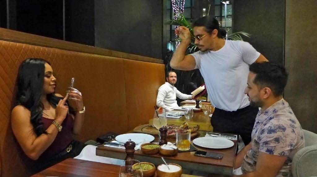 Disantap oleh Presiden Venezuela, Berapa Harga Beefsteak Salt Bae?