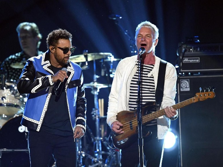 Shaggy dan Sting Foto: Kevin Winter/Getty Images for NARAS