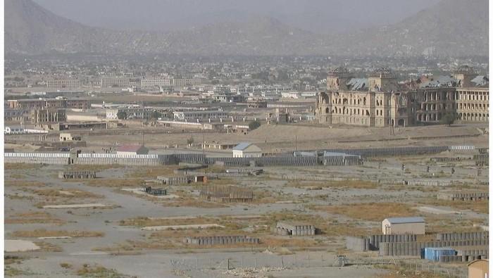 Istana Darul Alam di Kabul Afghanistan