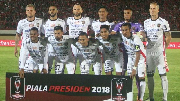 Bali United menjalani Piala Presiden dan Piala AFC 2018 hanya dalam waktu dua hari.