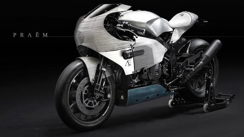 Modifikasi Honda RC51 Berharga Rp 2,3 Milyar Super Seksi Foto: Pool (Rideapart)
