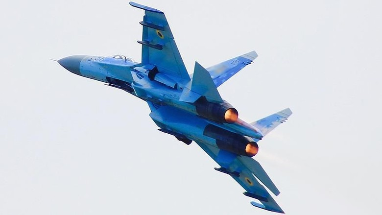 Jet Tempur Rusia Cegat Pesawat Militer AS di Laut Hitam