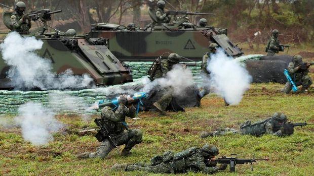 Ilustrasi militer Taiwan.