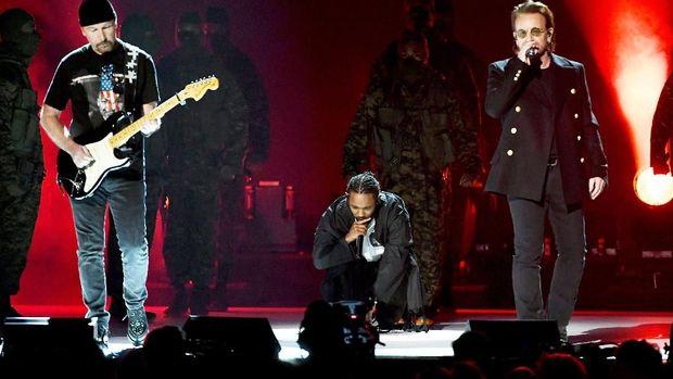 Kendrick Lamar dan U2