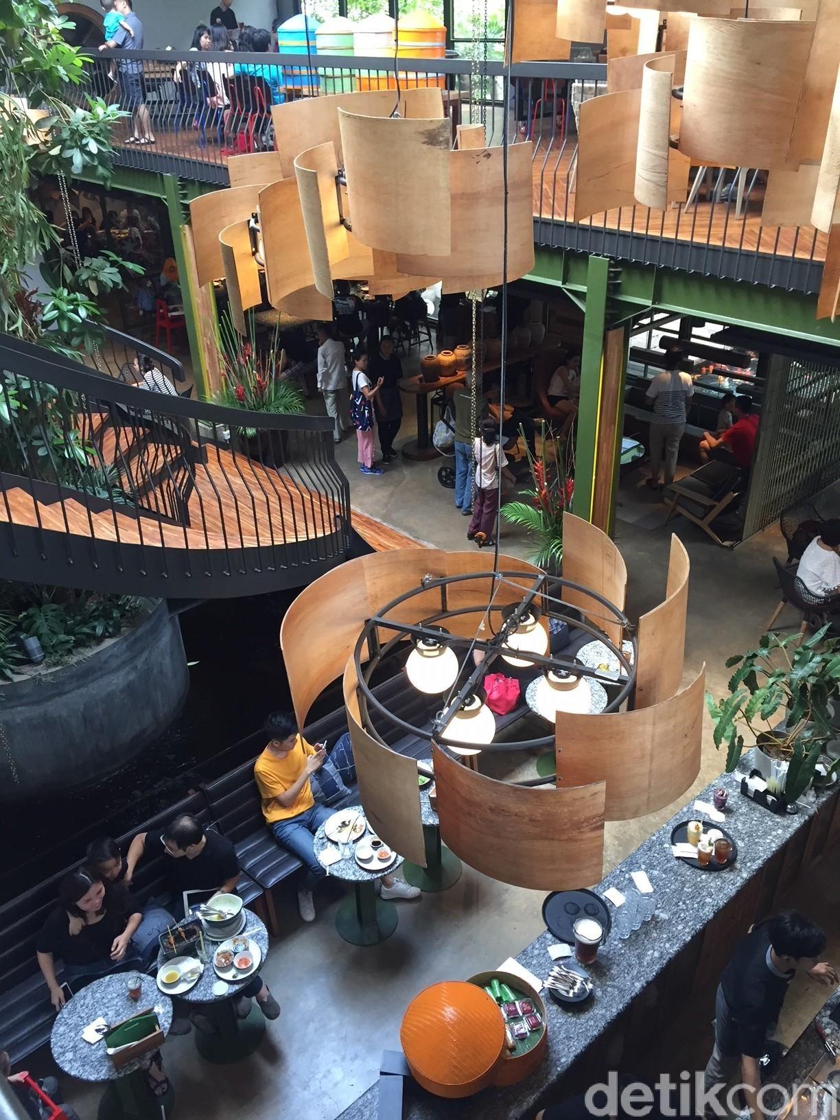 Restoran Kayu-Kayu di Alam Sutera