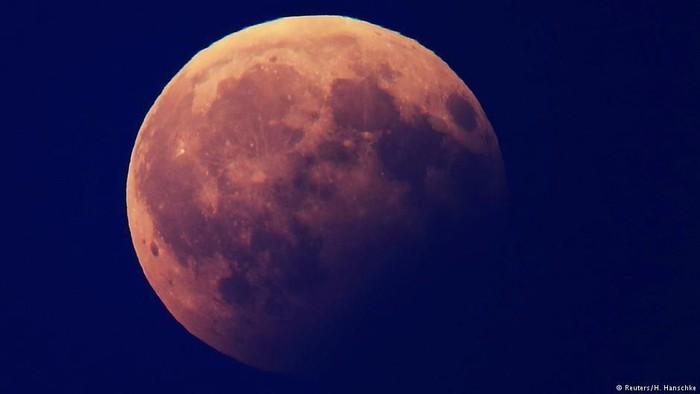 Fenomena gerhana bulan biru kemerahan juga dikaitkan dengan sejumlah fungsi organ tubuh. (Foto: DW (Soft News)