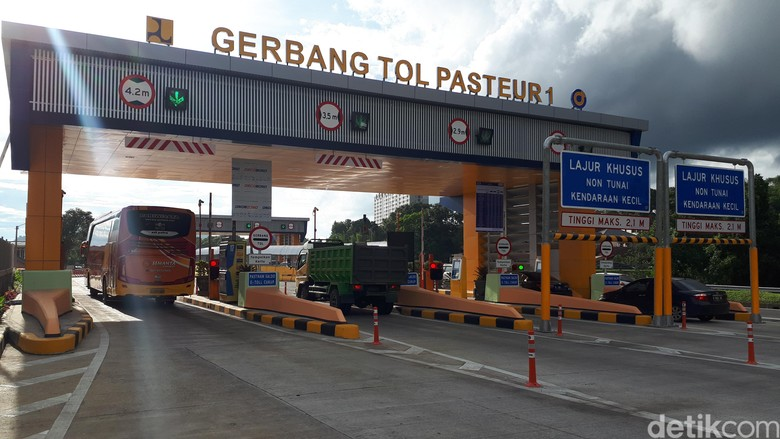 Jasa Marga Relokasi GT Pasteur ke Simpang Susun Baros
