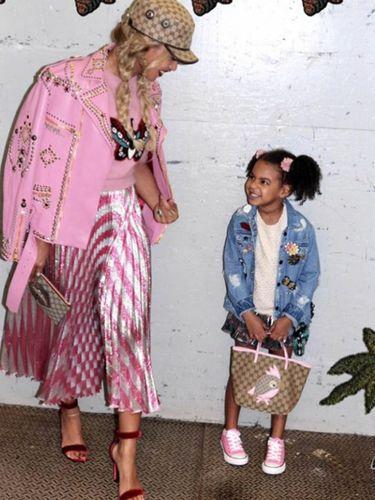 Beyonce dan Blue Ivy.